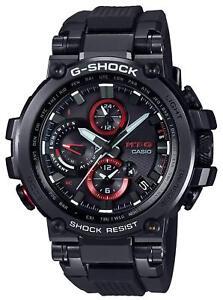 CASIO G-SHOCK MT-G MTG-B1000B-1AJF Bluetooth Solar Radio Men's Watch New in Box