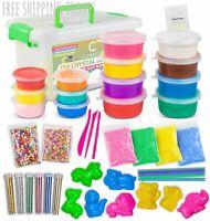 DIY Slime Kit, Crystal Slime Making Kit, Make Your Own Slime for Girls Boys