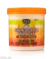 X2 African Pride Shea Butter Moisture Intense Miracle Leave in Conditioner 425 G