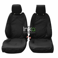 Range Rover Front INKA Tailored Waterproof Seat Covers Black MK 3 L322 MY02-12
