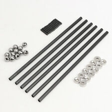200MM 4x6 MM Diagonal Push Rod L200  Joint And Steel Ball For Kossel 3D Printer