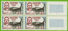 1960 -J.BOUIN-TIMBRE NEUF** BLOC DE 4 -JEUX OLYMPIQUES DE ROME-STAMP-Yv.1265