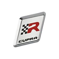 Seat Leon 1M Ibiza 6L CUPRA R Logo Plakette Lenkrad Lenkradclip Emblem CupraR