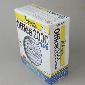 Professor Teaches Microsoft Office 2000 Plus 10 CD Tutorial Set - SEALED