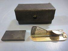 Vintage PTC Pacific Transducer Corp Rubber Hardess Gauge, Model 302, Durometer