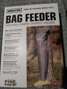 Bag Deer Feeder Or Corn Feeder Portable Gravity Feeder
