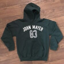 John Mayer 83 Green Tour Hoodie Sweatshirt Size Medium M Grateful Dead & Co.
