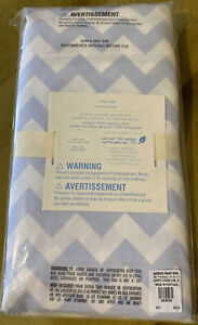 POTTERY BARN KIDs Organic Chevron Stripe CRIB FITTED SHEET Brand New