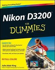 Nikon D3200 For Dummies: By King, Julie Adair