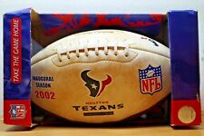 2002 HOUSTON TEXANS FOOTBALL NFL INAUGURAL SEASON LTD ED BIRTH OF FRANCHISE