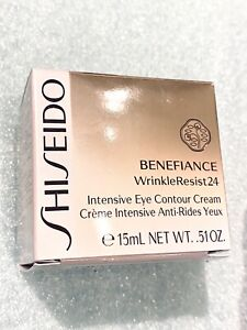 Brand New SHISEIDO Benefiance WrinkleResist24 Intensive Eye Contour Cream