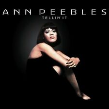 ANN PEEBLES - TELLIN' IT  CD  10 TRACKS POP/SOUL/R&B  NEW+