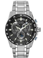 Men's Citizen Eco-Drive Perpetual Chrono AT Watch AT4010-50E