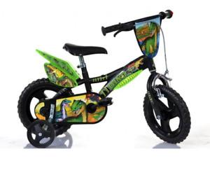 Bicicletta Per Bambini Dinosaurs 12″ Dino Bikes
