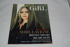 Music Magazine GiRL w/ sticker INROCK Japan magazine book Avril Lavigne
