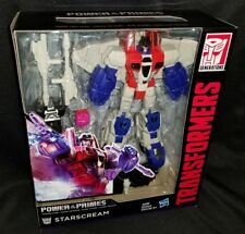Transformers Generations Power of the Primes STARSCREAM Voyager Class Figure
