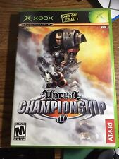 Unreal Championship Platinum Hits (Microsoft Xbox, 2003) PS1 COMPLETE VIDEO GAME