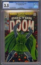 MARVEL SUPER-HEROES #20 CGC 3.5 DOCTOR DOOM STORY 1ST VALERIA