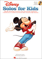 DISNEY SOLOS FOR CHILDREN Piano Vocal Guitar Music Book & CD Songs Shop Soiled