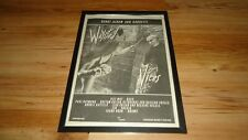 WAYSTED vices-framed original poster sized advert