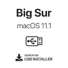 Apple Mac OS Big Sur 11.1 bootfähiger USB Stick 3.0 Boot Update Install Recovery