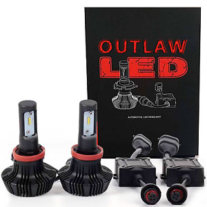 OUTLAW LIGHTS LED Low Beam | 1996-2016 Chevrolet Express Conversion Van | 9006