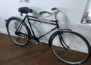"Hercules Vintage Bicycle 26"" Indian Mumbai Import - Cafe Antique promotion Bike"