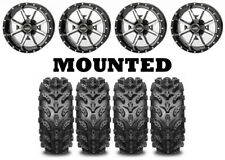Kit 4 Interco Swamp Lite Tires 27x9-12/27x10-12 on Frontline 556 Machined IRS