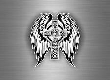 Sticker adesiva adesivi tuning auto moto celtico trinity triquetra croce knot r9