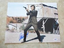 Clint Eastwood Dirty Harry Signed Autographed 11x14  Photo PSA Certified #14