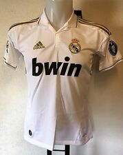 REAL MADRID 2011/12 BOYS UCL HOME SHIRT BY ADIDAS SIZE 14 YEARS BRAND NEW