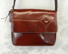 Vintage Rolfs Leather Purse Brown Chestnut Shoulder Bag