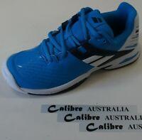 Babolat Junior Tennis Shoes PROPULSE AC JUNIOR, White/Blue
