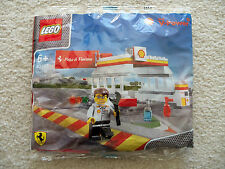 LEGO Ferrari Shell - Shell Station polybag 40195 - New & Sealed - In Hand USA