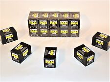5 x ILFORD  PAN  100  B&W NEG Film--35mm/36  exp--ULTRA FRESH--expires: 01/2021