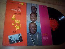 VG The Do Ray Mi Trio That Wonderfully Musical LP Album