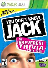 NEW - XBOX 360 - You Don't Know Jack  Trivia Party Game Microsoft Xbox 360
