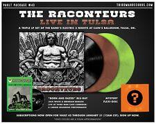The Raconteurs Live in Tulsa 3 LP Vinyl Third Man Records Vault Package #43
