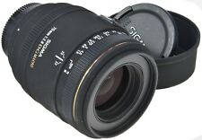 NIKON Sigma EX 70mm 2.8 DG Macro + Hood