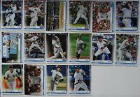 2019 Topps Update New York Yankees Base Team Set of 16 Baseball Cards