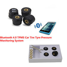 IP67 Car Tire Tyre Pressure Monitor 4 Sensors TPMS Alarm System for Android IOS