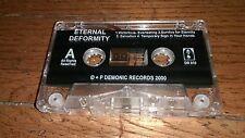 Eternal Deformity In the Abyss of Dreams Furious Memories Doom Metal cassette CS