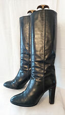 """Boots Vintage 1982 """"Black"""" ST.RAPHAEL San remo T.38"""