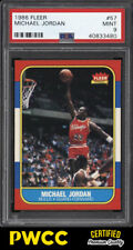 1986 Fleer Basketball Michael Jordan ROOKIE RC #57 PSA 9 MINT (PWCC-PQ)