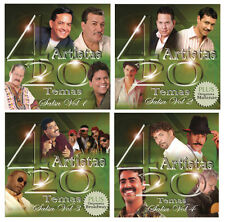 80 Salsa Hits on 4 New CD's * Lalo Rodriguez, Eddie Palmieri, Tito Rojas, & more