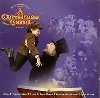 A Christmas Carol [Original Cast Recording] by Alan Menken/Lynn Ahrens (CD, Sep-