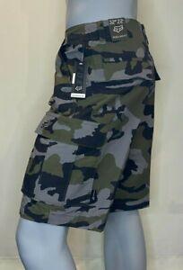 Fox Racing - Slambozo Shorts 2.0 - Mens - Fox Head - Green Camo - Cargo Shorts