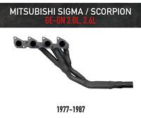 Headers / Extractors for Mitsubishi Sigma and Scorpion - 2.0L, 2.6L (1977-1987)