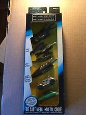 1995 BATMAN FOREVER Kenner set of 5 die cast cars. New sealed.