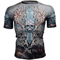 BTOPERFORM [FX-306] Skin Compression Base layer Rash guard T-shirt MMA BJJ GYM